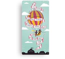 Balloon Adventure Canvas Print