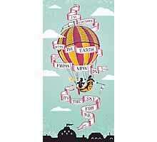 Balloon Adventure Photographic Print