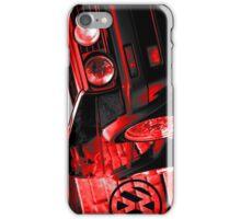 Golf GTI Red Artwork iPhone Case/Skin