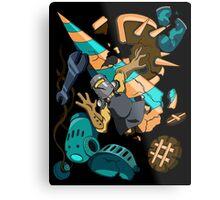 Tinker Knight Destruction Metal Print