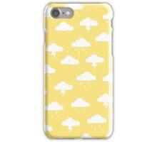 Precipitation Yellow iPhone Case/Skin