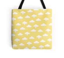 Precipitation Yellow Tote Bag
