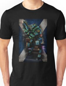 Tartan Robot Unisex T-Shirt