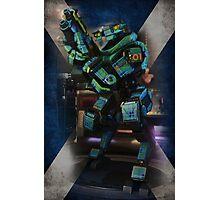 Tartan Robot Photographic Print
