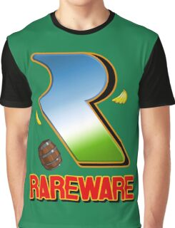 Rareware Donkey Kong Country Style Graphic T-Shirt