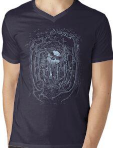 Through the Forest Mens V-Neck T-Shirt