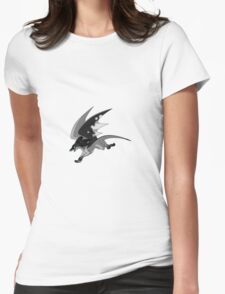 Storm the Wind Dragon Womens Fitted T-Shirt