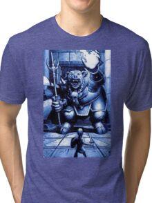 Link Confronts Ganon Tri-blend T-Shirt