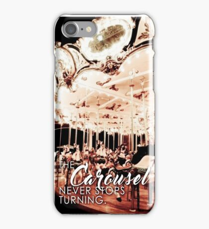 THE CAROUSEL NEVER STOPS TURNING - GREY'S ANATOMY iPhone Case/Skin