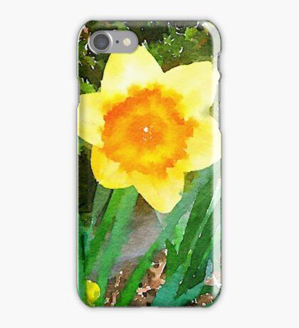 Yellow and Orange Daffodil iPhone Case/Skin