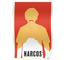 Minimalist Narcos Poster