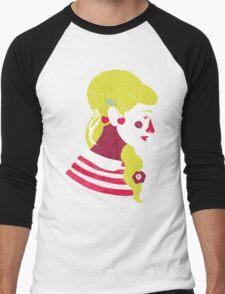 cherries on your ears Men's Baseball ¾ T-Shirt