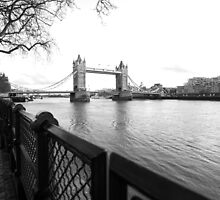 The Path to Tower Bridge by Elizabeth Tunstall