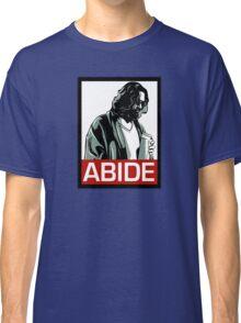 Jeff Lebowski (the dude) abides - the big lebowski Classic T-Shirt