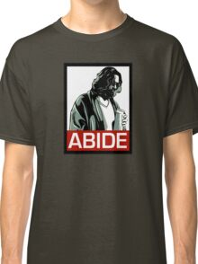 Jeff Lebowski (the dude) abides - the big lebowski Classic T-Shirt