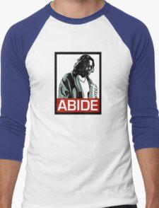 Jeff Lebowski (the dude) abides - the big lebowski Men's Baseball ¾ T-Shirt