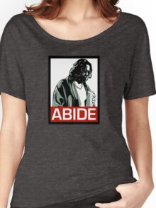 Jeff Lebowski (the dude) abides - the big lebowski Women's Relaxed Fit T-Shirt