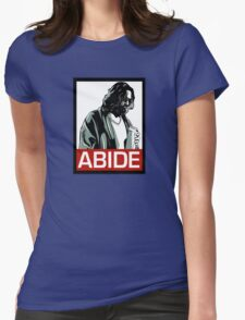 Jeff Lebowski (the dude) abides - the big lebowski Womens Fitted T-Shirt