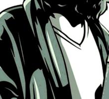 Jeff Lebowski (the dude) abides - the big lebowski Sticker