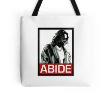 Jeff Lebowski (the dude) abides - the big lebowski Tote Bag