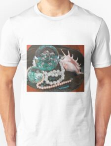 Paperweight and Pearls with shell T-Shirt