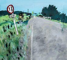 One Way Bridge - Tomarata - New Zealand by Katie Robinson