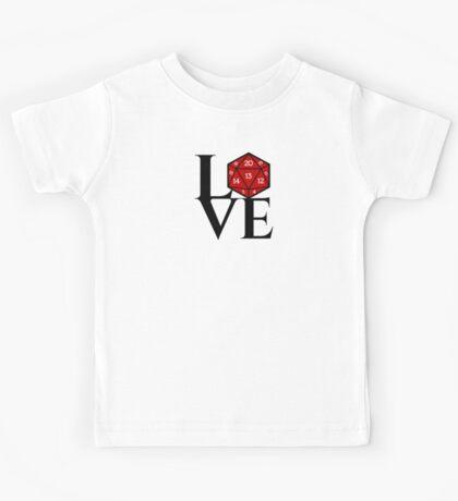 D20 - LOVE Kids Tee