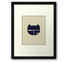 FLCL Baseball Uniform Framed Print