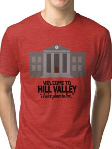Welcome to Hill Valley Tri-blend T-Shirt