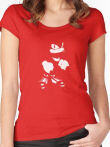 Knuckles Minimal Tee Women's Fitted Scoop T-Shirt