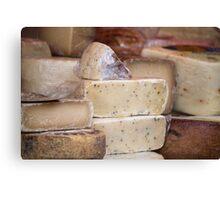 local cheese Canvas Print
