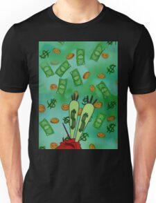 Raining Money Krabs Unisex T-Shirt