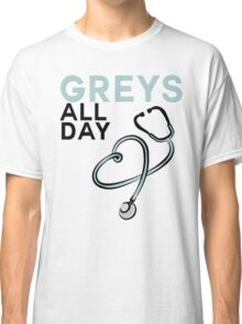 GREY'S ALL DAY - GREY'S ANATOMY Classic T-Shirt