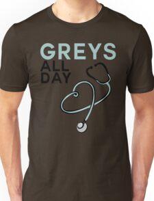 GREY'S ALL DAY - GREY'S ANATOMY Unisex T-Shirt