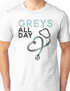 GREY'S ALL DAY - GREY'S ANATOMY Unisex T-Shirt