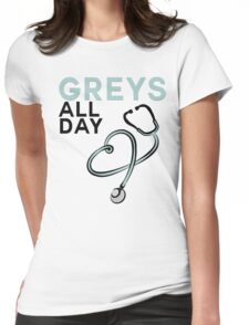 GREY'S ALL DAY - GREY'S ANATOMY Womens Fitted T-Shirt