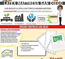 Organic Mattress San Diego by LatexsMattress