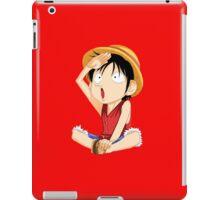 luffy one piece iPad Case/Skin