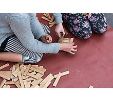 wooden toys for children Photographic Print