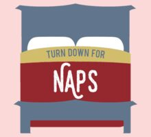 Turn Down for Naps One Piece - Short Sleeve