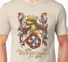 Arms of King of Portugal - Livro do Armeiro-Mor Unisex T-Shirt