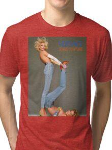 Retro Versace Jeans Poster Tri-blend T-Shirt