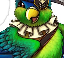 Pirate Parrot Sticker