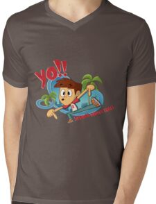 YO! It's Spencer! Mens V-Neck T-Shirt