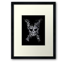 Cross Off Crossbones Framed Print