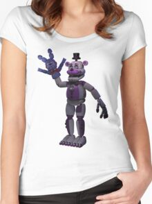 Five Nights At Freddy's Sister Location Women's Fitted Scoop T-Shirt