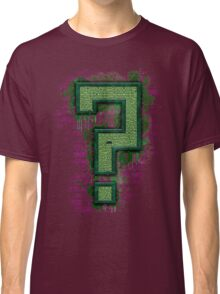 Riddler's Questionable Maze Classic T-Shirt