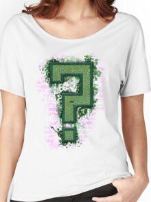 Riddler's Questionable Maze Women's Relaxed Fit T-Shirt