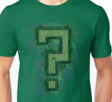 Riddler's Questionable Maze Unisex T-Shirt