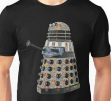Hippie Hippy Love and Peace Dalek Unisex T-Shirt